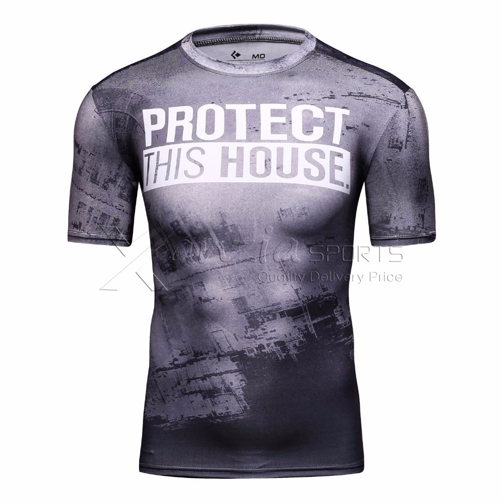 Wholesale custom printed sublimation t shirt high quality Custom t shirt digital printing