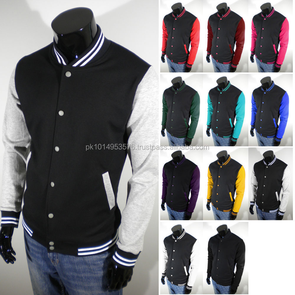 Custom Varsity Jackets/wholesale Blank Varsity Baseball Jackets ...