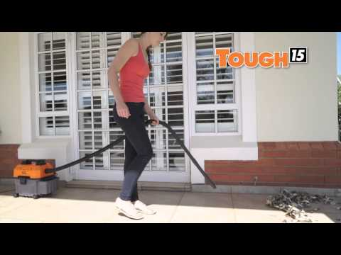 Tough 15 Home Vacuum Cleaner and Blower for Wet and Dry Vacuum Cleaning