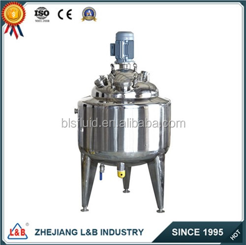 top sale stainless steel jacketed mixing tank made in China