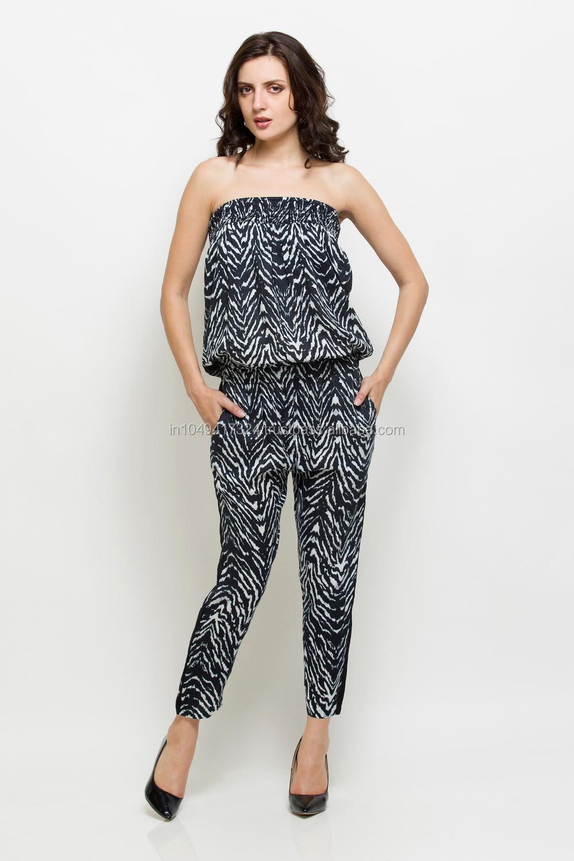 Womenu0026#39;s Off Shoulder Stylish JumpsuitParty Wear JumpsuitTrendy Look Jumpsuit - Buy Latest ...