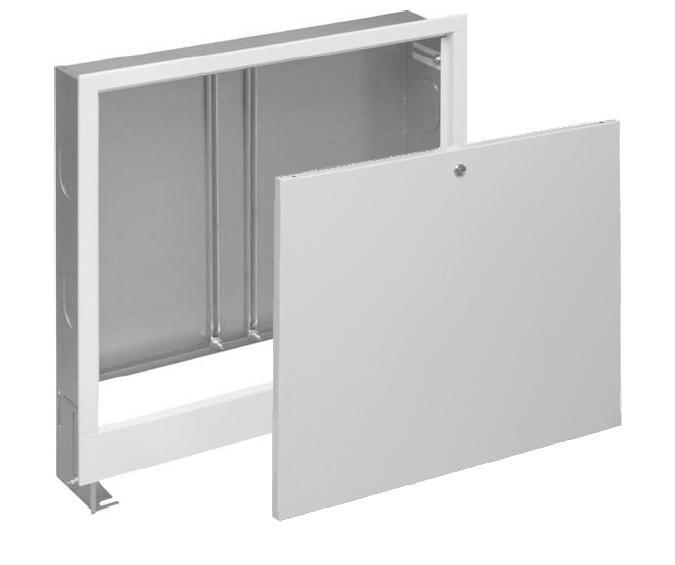 Underfloor Water Heating Manifold Cabinet.