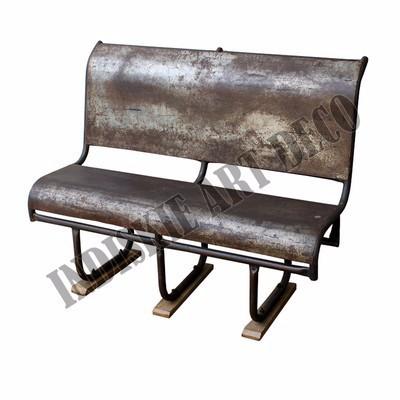 Mobili da esterno sedie a sdraio vintage industriale - Panchine da esterno in ferro ...