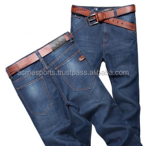 Denim Jeans Pants - Men Jean Pant New Design Denim Jean Pant Men's ...