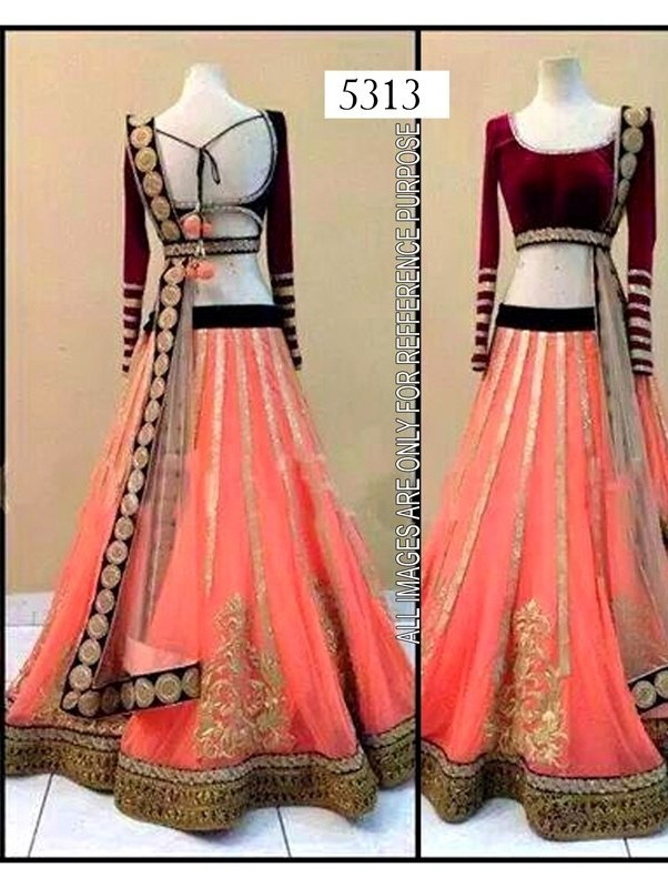 9da91c17ee Bollywood Designer Net Fabric Orange Lehenga Choli - Buy Bollywood ...