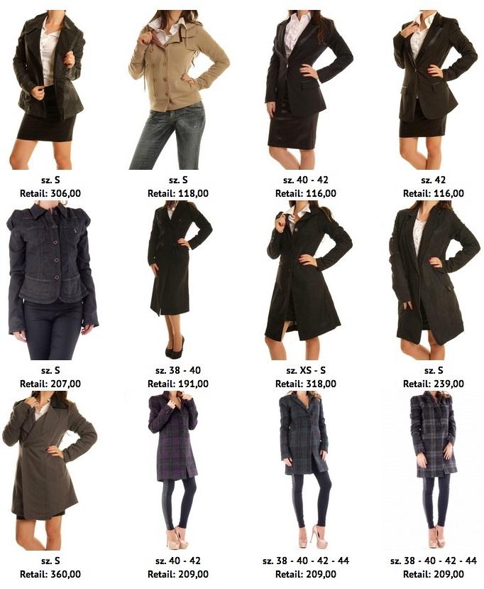 Tipos de abrigos mujer
