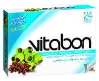 Lozenge Herbal Vitamin Drops Vitabon Lemon And Sage Hard Sweet ...