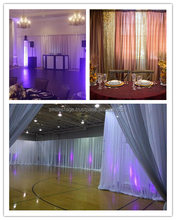 portable events pipe and drape backdrop wedding decoration crystal votive