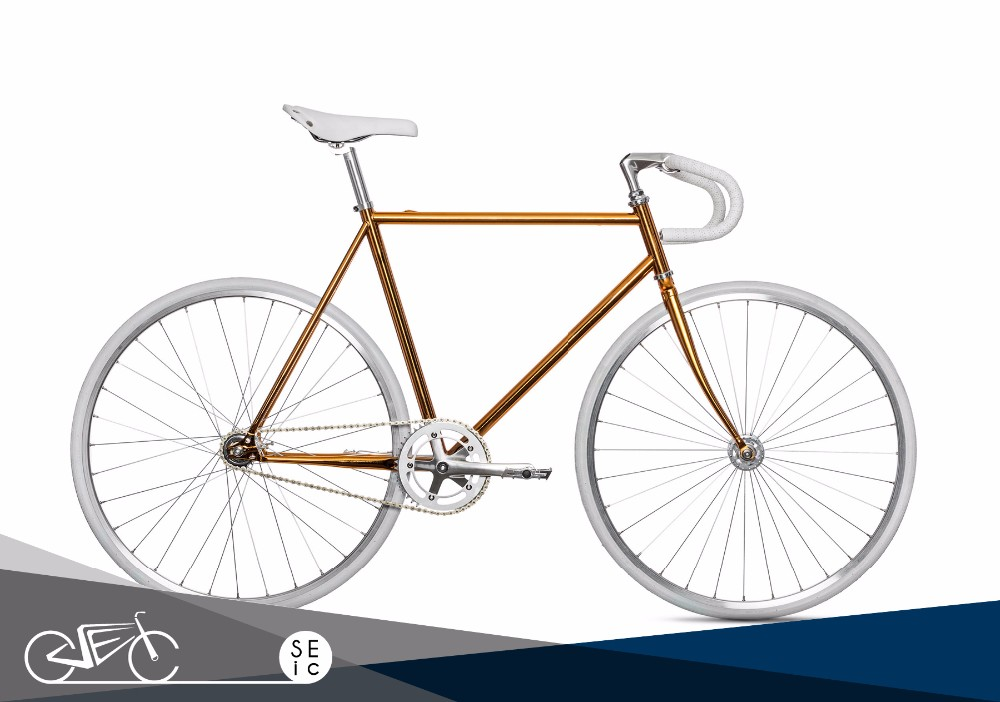 Classic Copper Color Bicycle 1 Fixie Bicycle Track Bike Fixed