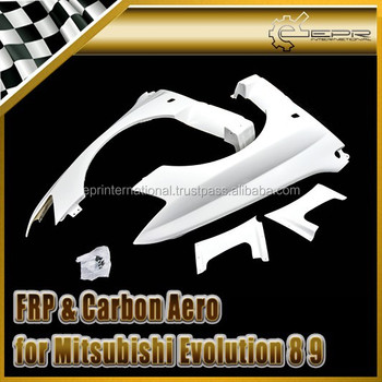 For Mitsubishi Evolution EVO 8 9 FRP Fiber Glass VA Style Aero GT Front Vented Fender