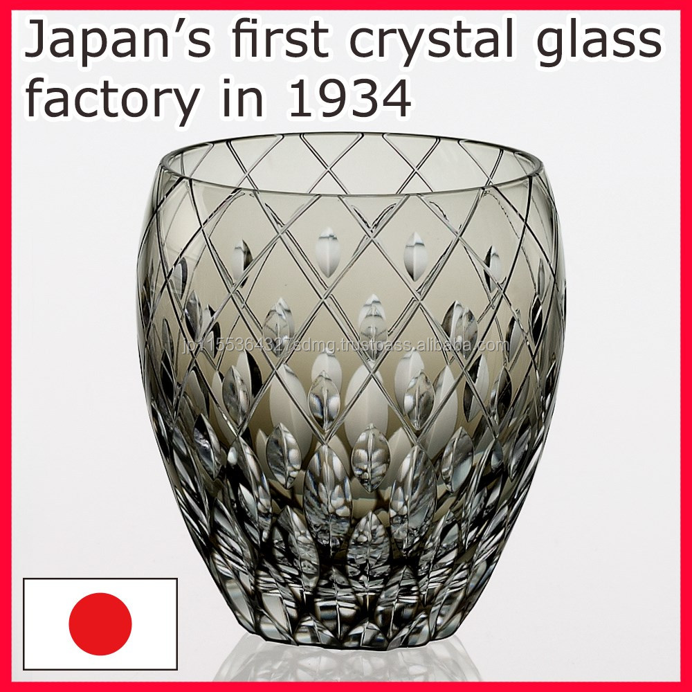 TOP Quality and Premium Grade Japanese crystal glassware made in Japan, at Available a piece