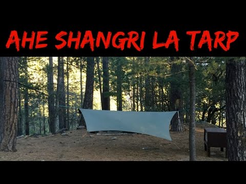 Save Weight: the Arrowhead Equipment Shangri La Tarp