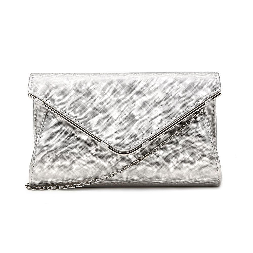 a6f4757dfe5 Latest Women Fashion Metal Edged Trendy Evening Bag Ladies Beautiful  Shoulder Bag