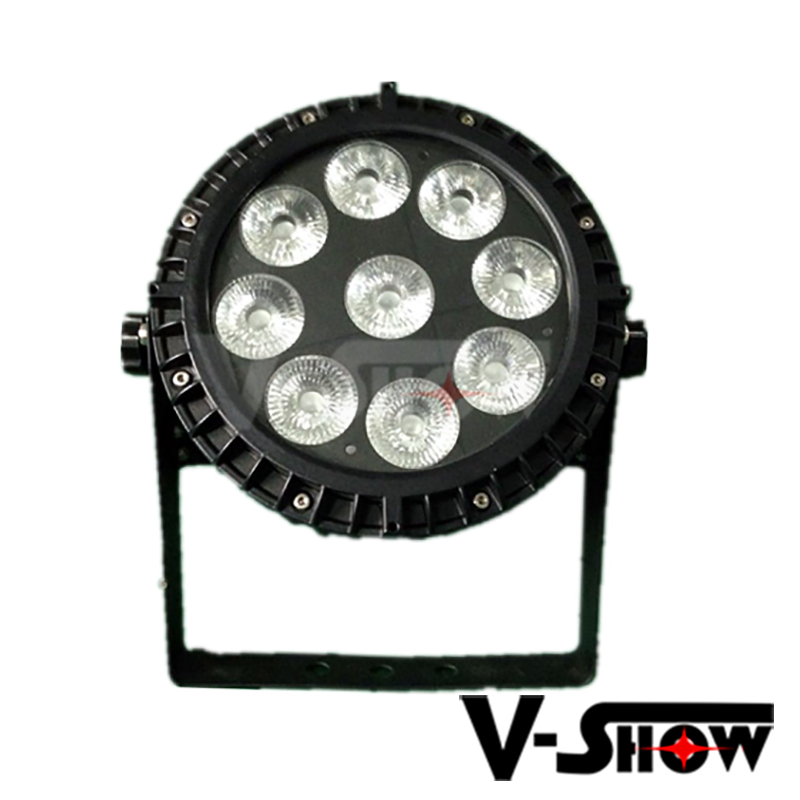 Alibaba Waterproof Led Par Can Lights 9x15w Rgbwa Ip65 Flat Par ...