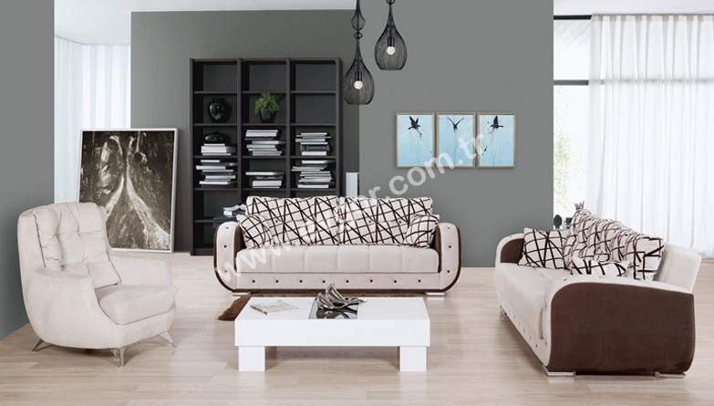 Ladin Sandikli Sofa Set