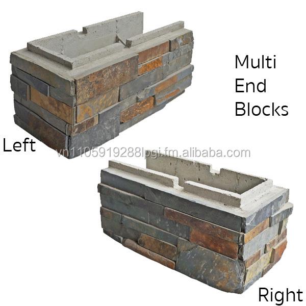 Mur de sout nement bloc de b ton jardin mur lettres for Bloc beton jardin