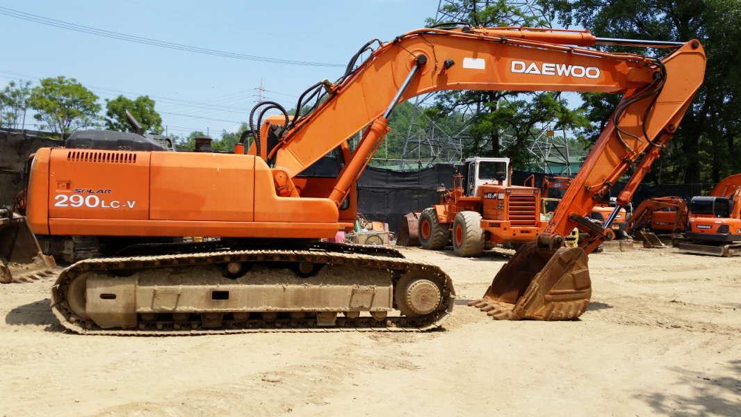 Daewoo Excavator S300lcv - Buy Daewoo Excavator S300lcv,Used Daewoo