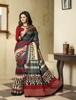 multicolor casual wear saree