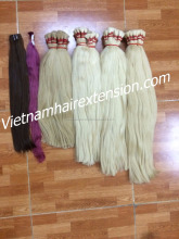 100% human hair russian color,blonde color