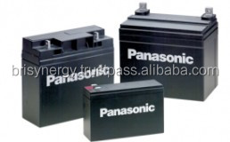 Panasonic Valve Regulated Lead Acid Battery LC-V064R5NA (6V4.5Ah) VRLA Battery Rechargeable Batteries LC Series Backup for UPS