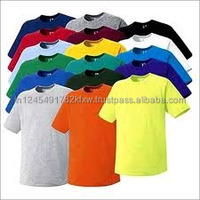 100% cotton plain t-shirt multicolor