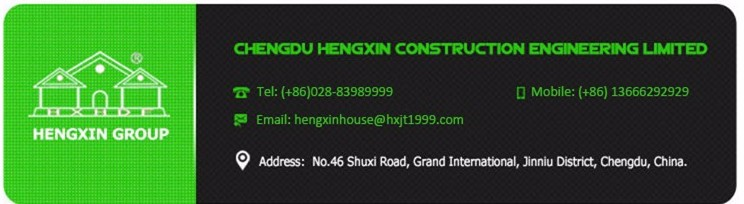 low cost light steel house construction material from China
