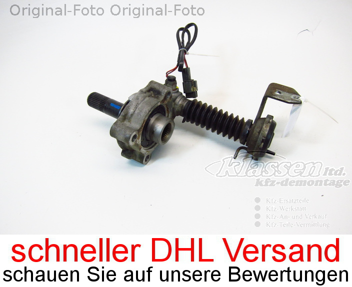 Gangsteller differential front for Mitsubishi Pajero IV V80
