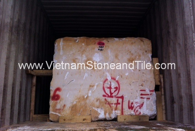 Rough white marble blocks, marble blocks