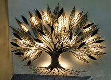 Design Wall Decor Tree With Mosaic Work | Artificial Tree Wall Decor