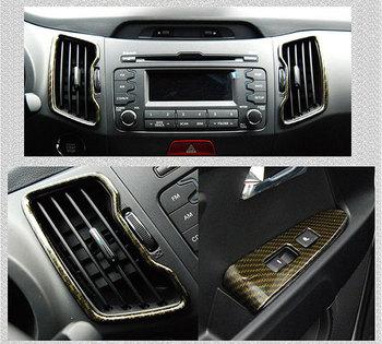 auto Clover] Kia Sportage R - Carbon Interior Molding Set (no.0340 ...