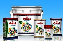 AMUL GHEE available in 200ml, 500ml, 1Lrt, 2 Ltr and 5 Ltr