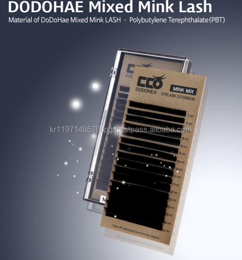 Mix Mink Lash Dodohae Brand Korean Eyelash Extension Buy