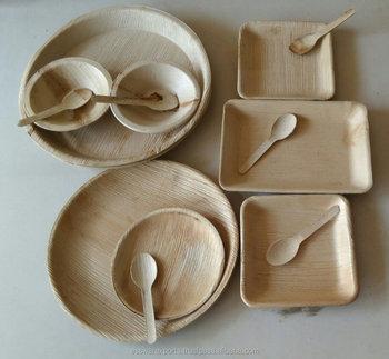 Areca Palm Plates - Dinnerware Plates & Areca Palm Plates - Dinnerware Plates - Buy Palm Leaf PlatesAreca ...
