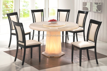 4 Round Full Marble Dining Table Buy Malaysia Dining