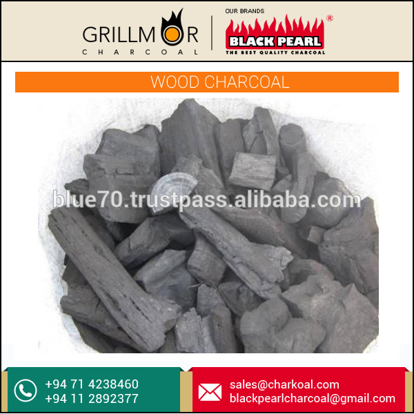 Natural Lump Wood Charcoal for Cooking with Grate Wood Flavour