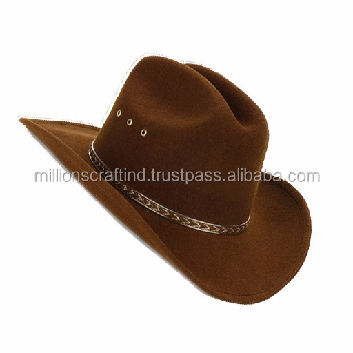 b58028841a7f3 Wholesale Custom Wool Felt Hat For Lemmy Men Cowboy Hat - Buy Cowboy ...