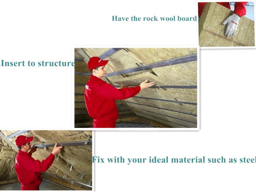 Best price roxul insulation rockwool rock wool board buy for Fireproof rockwool