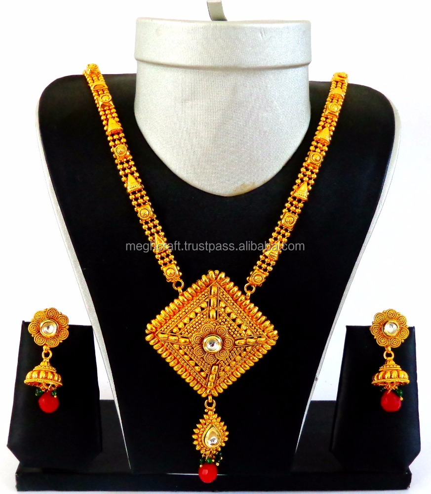 South Indian Long Haram Set Long Rani Haar Set Wholesale India