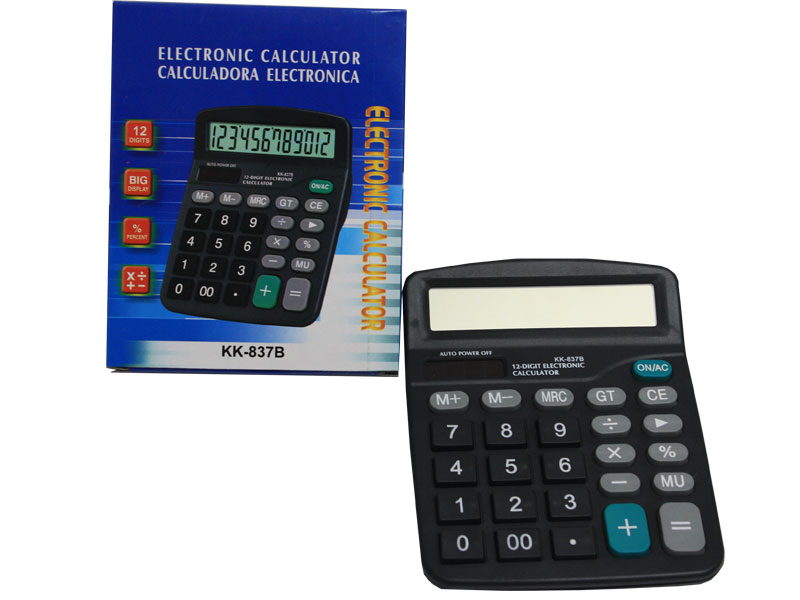 12 Digit Electronic Calculator