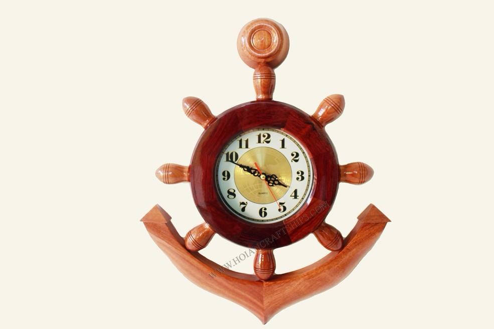 Anchor Clock,Nautical Decor Of Vietnam - Handicraft Product