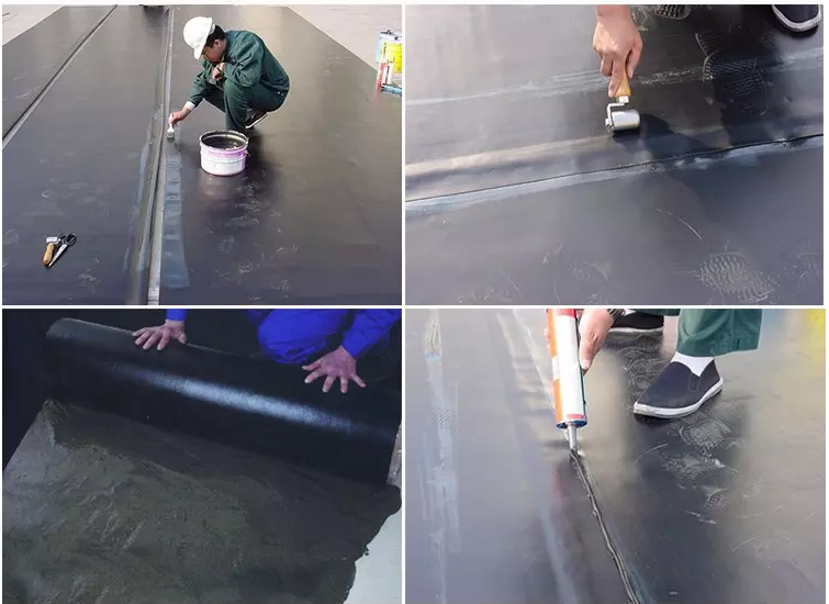 EPDM Rubber Waterproofing Membrane for Roof and Pond, Lake