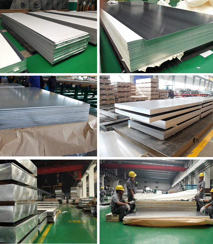 1060 aluminum plate 10*1350*4900 H112 from China