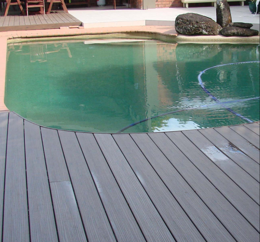 Wpc Decking Tongue And Groove Raised Flooring Waterproof And Anti