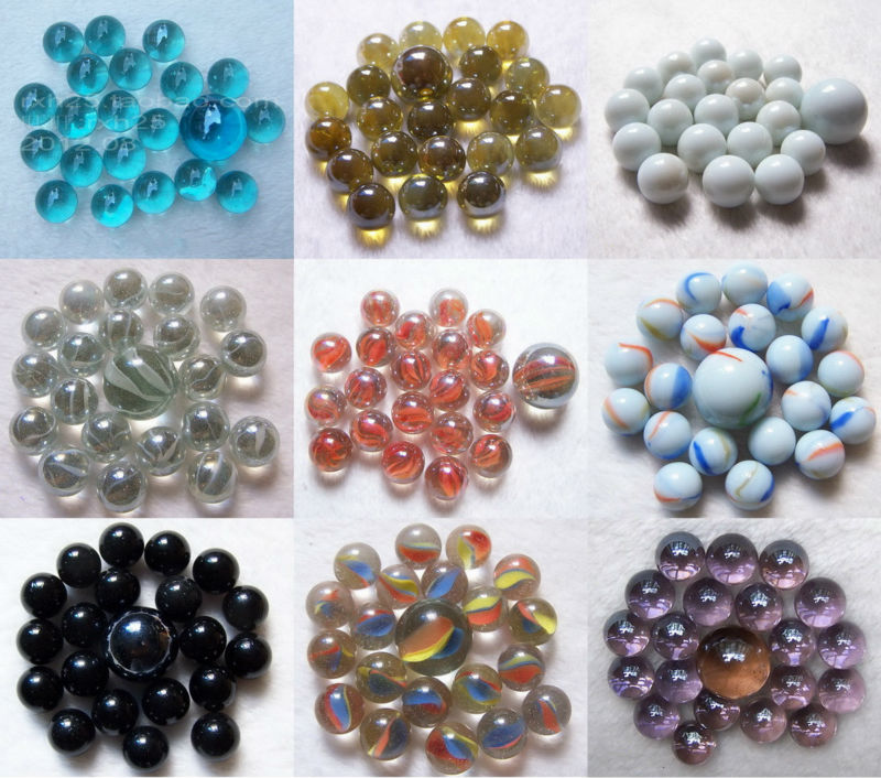 Toys For Marbles : Toy glass marbles size used for chinese checkers buy