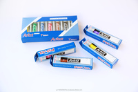 Various types of water-soluble ARITEX pigment for acrylic landscape paintings on canvas