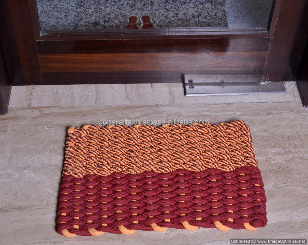 Indian Designer Braided Floor Mat Embroidered Handmade Rug Carpet Door Mat Polyester Mat Buy Kitchen Floor Mats Designer Woven Floor Mats Home