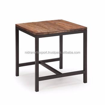En Table Bois Petite table 60x60 Marbre Industriel Buy table Product Carrée Basse Et Moderne On Vintage Métal Carré oWrdeEQCxB