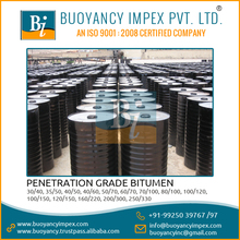 High Effectiveness And Free From Impurities Penetration Grade Bitumen 50/70