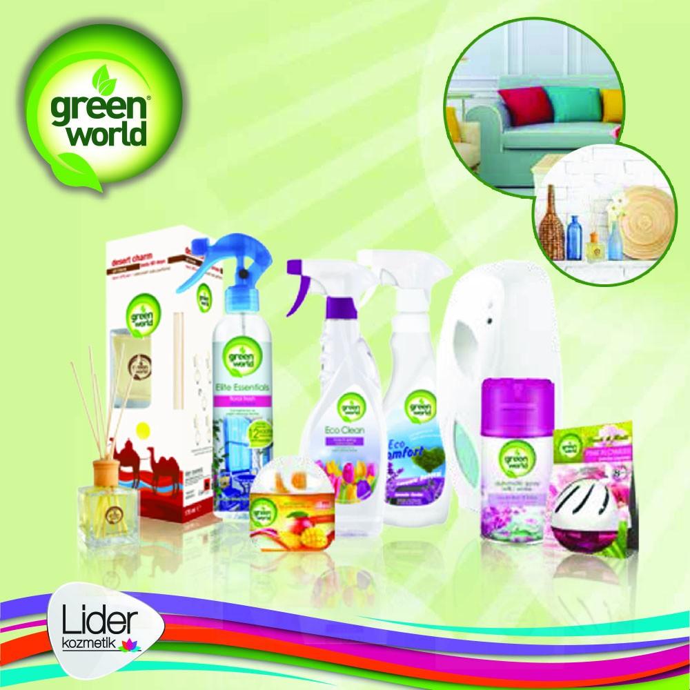 Super quality air freshener green world