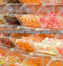 bulk candy acrylic boxes clear
